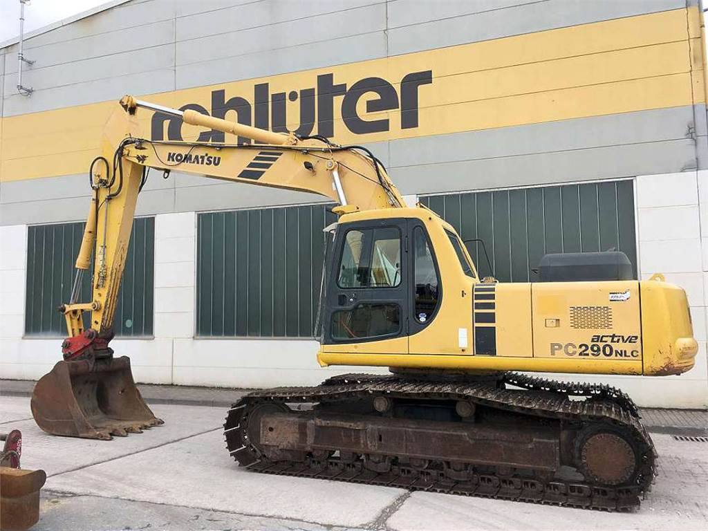 Komatsu PC290NLC-6A, Crawler Excavators, Construction Equipment