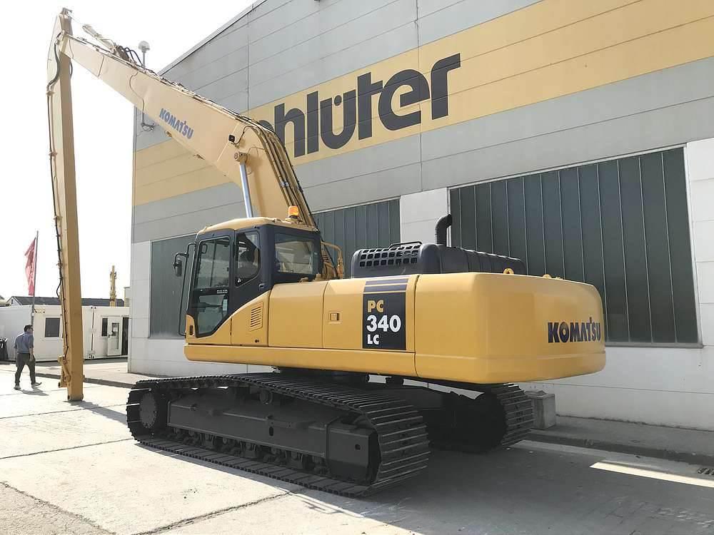 Komatsu PC340LC-7E0, Crawler Excavators, Construction Equipment