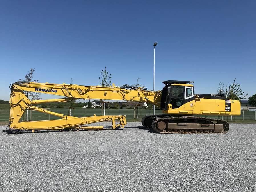 Komatsu PC340LCD-7K, Crawler Excavators, Construction Equipment