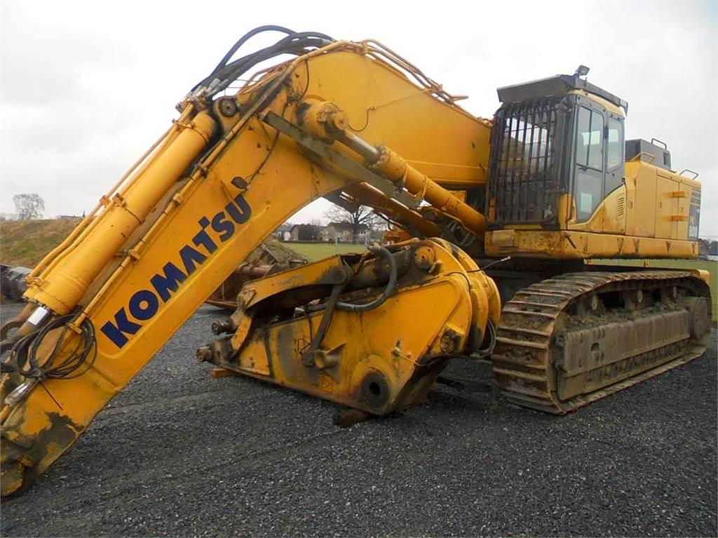 Komatsu PC800-8, Crawler Excavators, Construction Equipment