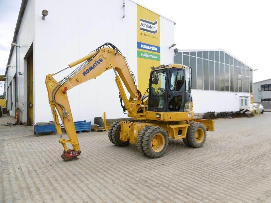 Komatsu PW98MR-6, Midi excavators, Construction Equipment