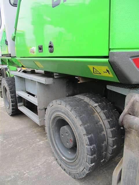 Sennebogen 818M, Pelle sur pneus, Travaux Publics