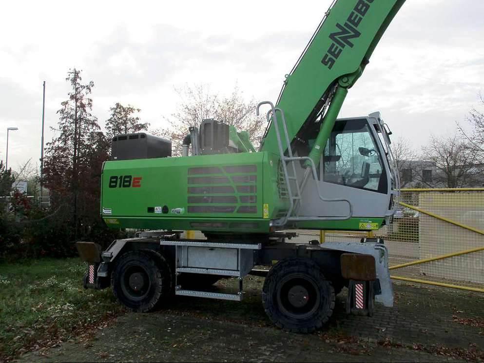 Sennebogen 818M, Wheeled Excavators, Construction Equipment