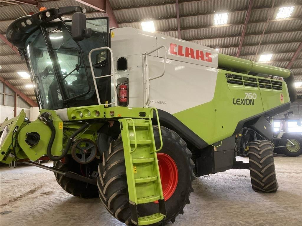 CLAAS LEXION 760, Mejetærskere, Landbrug