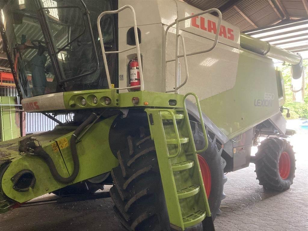CLAAS LEXION 650, Mejetærskere, Landbrug