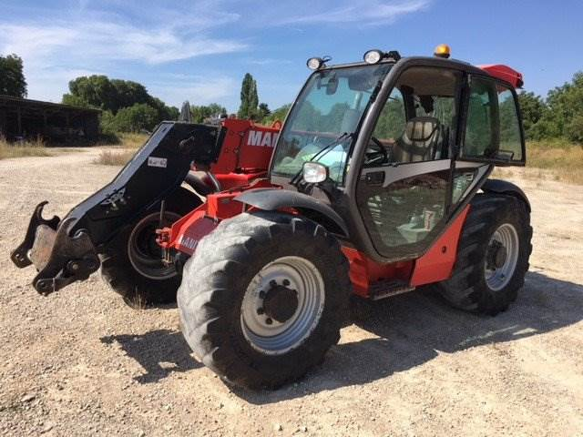 Manitou MLT 634-120 LSU, Telescopic handlers, Construction