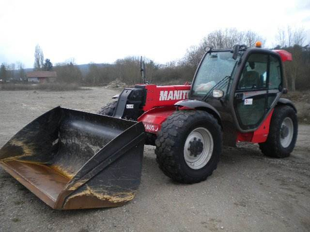 Manitou MLT 735-120 LSU PS, Telescopic handlers, Construction