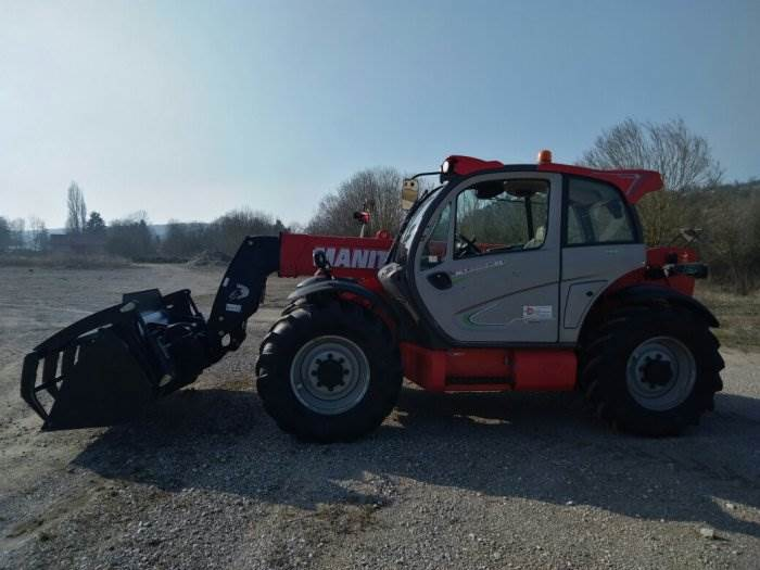 Manitou MLT 840-137 PS Elite, Telescopic handlers, Construction