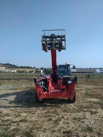 Manitou MT 1440, Telescopic handlers, Construction