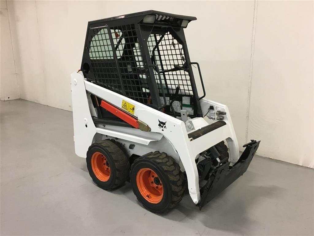 Bobcat 463, Minilæsser - skridstyret, Entreprenør