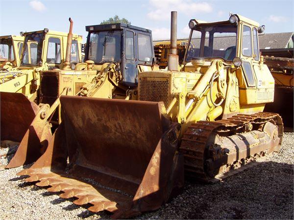 Caterpillar 955L, Larvebåndslæssere, Entreprenør