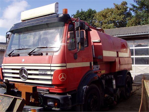 Mercedes-Benz 1824, Andre lastbiler, Transport