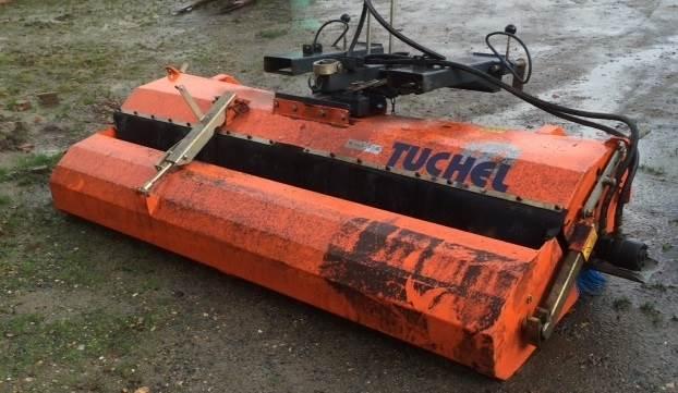 Tuchel 2,30 m med opsamler, Andet tilbehør til traktorer, Landbrug
