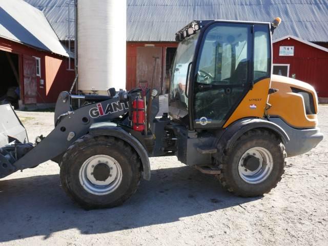 GIANT V761T, Wheel Loaders, Construction Equipment