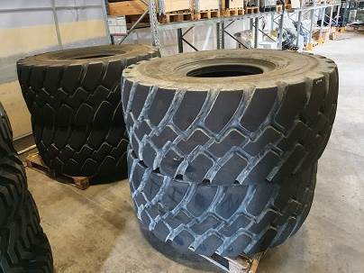 Goodyear Däck, Tires, wheels and rims, Construction Equipment