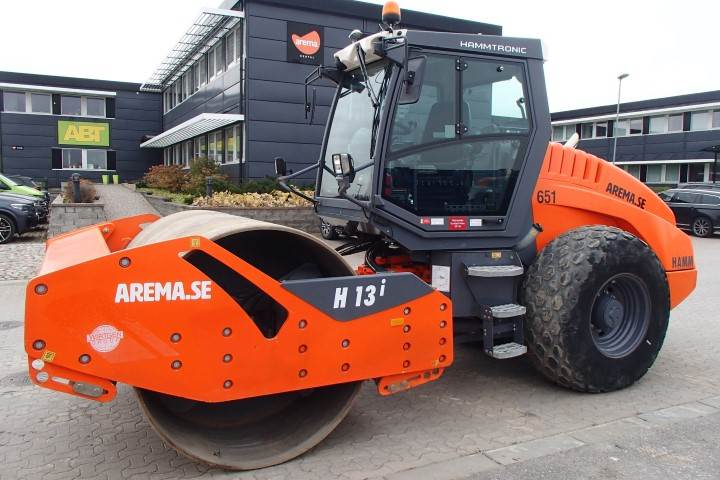 Hamm H 13I, Single drum rollers, Construction Equipment