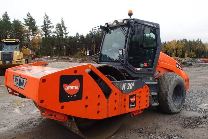 Hamm H20I, Single drum rollers, Construction Equipment