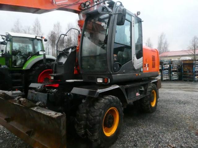 Hitachi ZX 190W-3, Wheeled Excavators, Construction Equipment