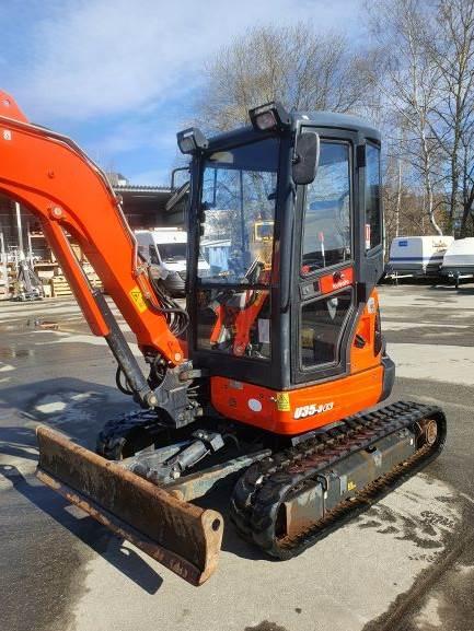 Kubota U35-3 A3, Mini Excavators <7t (Mini Diggers), Construction Equipment