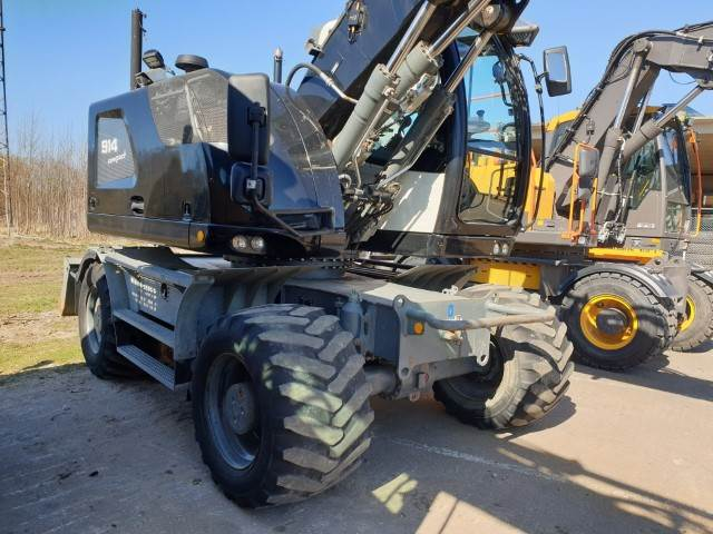 Liebherr A914 COMPACT, Wheeled Excavators, Construction Equipment