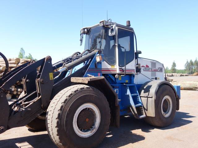 Ljungby L20, Wheel Loaders, Construction Equipment