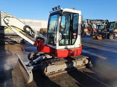 Takeuchi TB153FR, Mini Excavators <7t (Mini Diggers), Construction Equipment