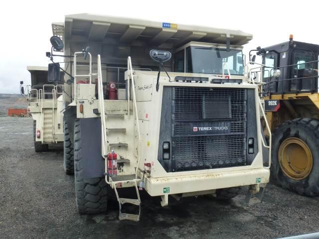 Terex TR100, Rigid dump trucks, Construction Equipment