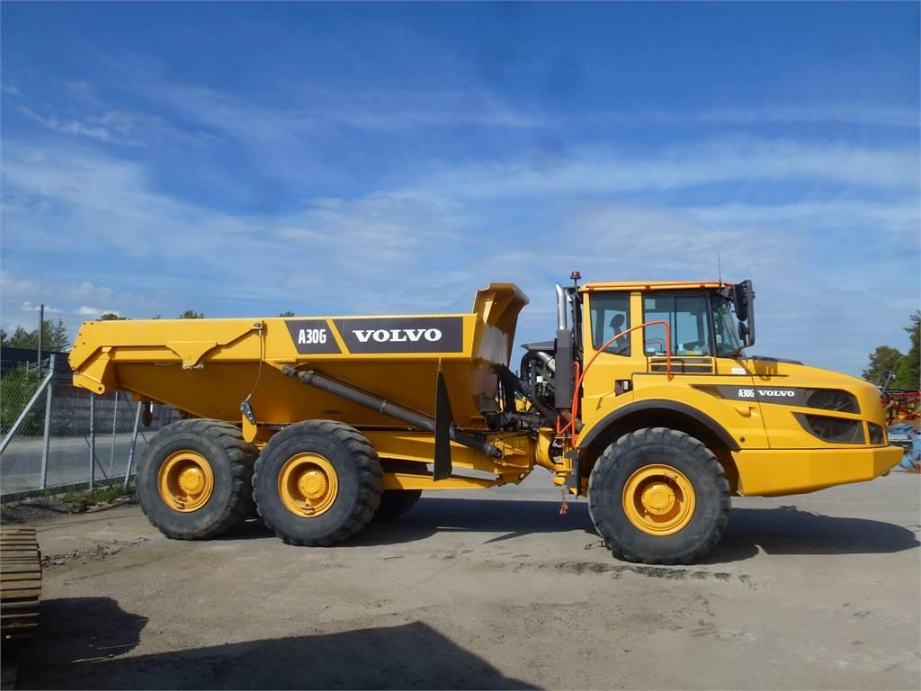 Volvo A30G, Articulated Dump Trucks (ADTs), Construction Equipment
