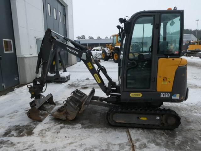Volvo EC18D, Mini Excavators <7t (Mini Diggers), Construction Equipment