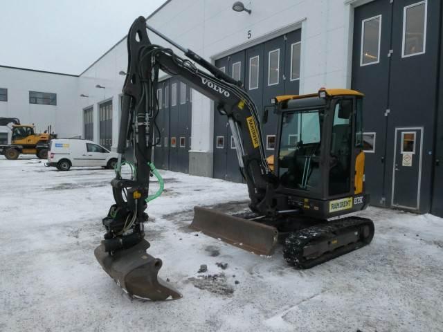 Volvo EC35C, Mini excavators < 7t (Mini diggers), Construction