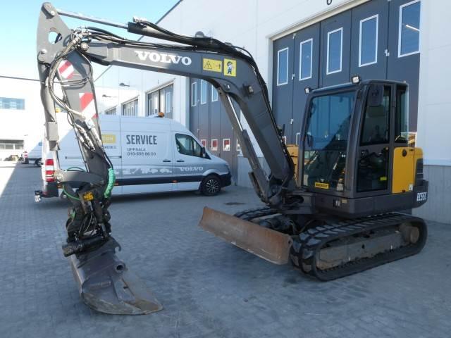 Volvo EC55C, Mini excavators < 7t (Mini diggers), Construction