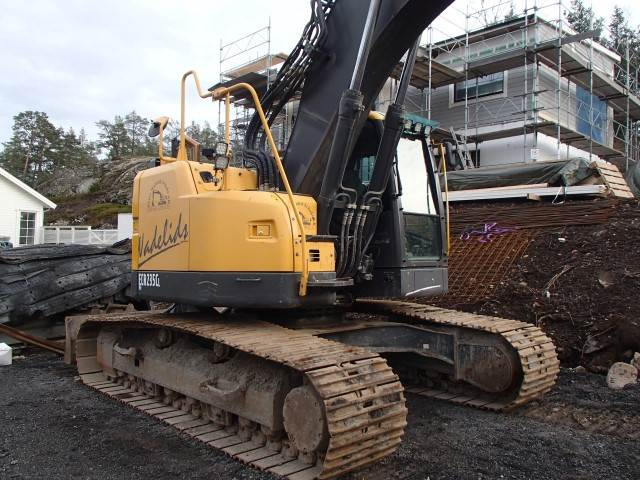 Volvo ECR235CL, Crawler Excavators, Construction Equipment