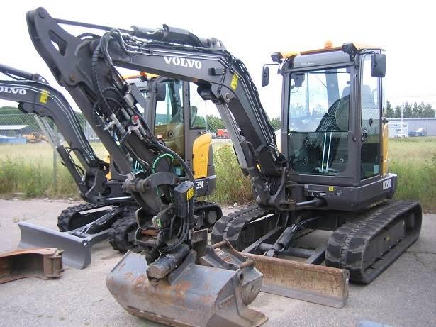 Volvo ECR50D, Mini Excavators <7t (Mini Diggers), Construction Equipment