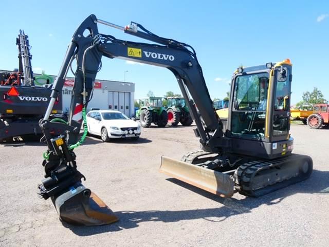 Volvo ECR58D, Mini Excavators <7t (Mini Diggers), Construction Equipment