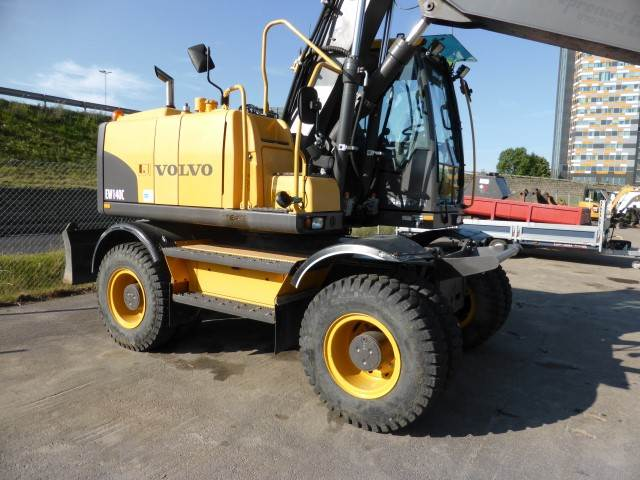 Volvo EW140C, Wheeled Excavators, Construction Equipment