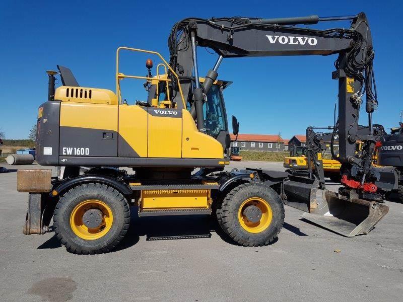 Volvo EW160D, Wheeled Excavators, Construction Equipment
