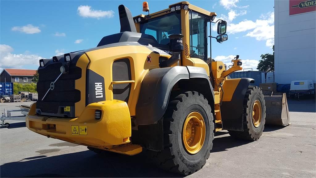 Volvo L110H, Wheel Loaders, Construction Equipment