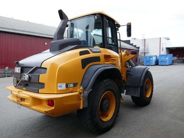 Volvo L50G, Wheel Loaders, Construction Equipment