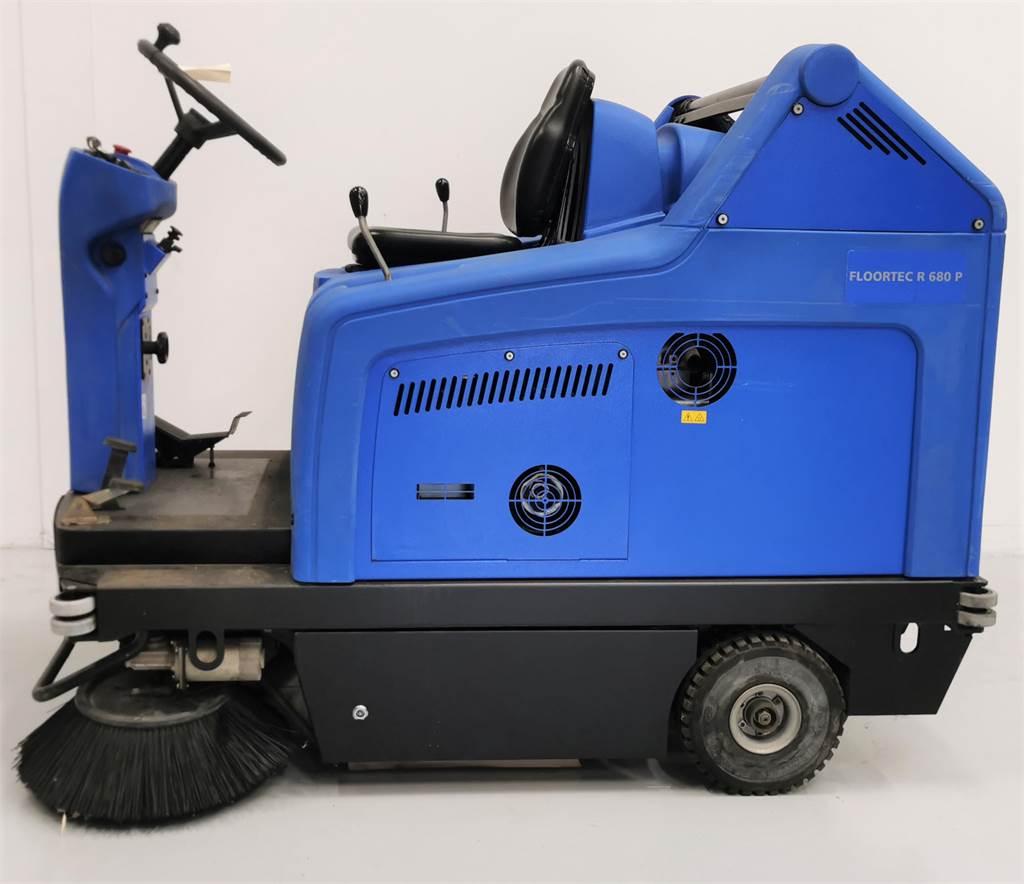 Alto FLOORTEC R680R, Feje- og vaskemaskiner, Trucks