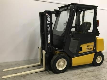 Yale GDP25TF, Diesel gaffeltrucks, Trucks