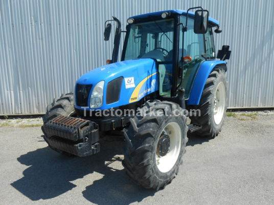 New Holland TRACTEUR TD 5050 CAB 4 RM