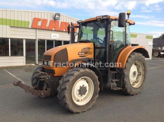 renault tracteur ares 556 rz occasion france 49 maine et loire prix 22 500 ann e d. Black Bedroom Furniture Sets. Home Design Ideas
