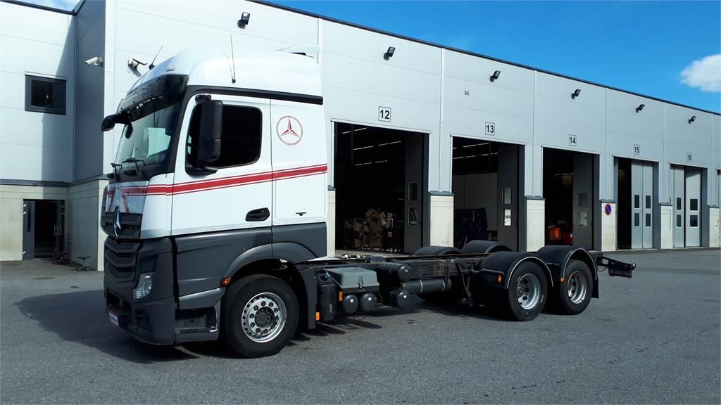 Mercedes-Benz ACTROS 2658L DNA alusta, Kuorma-autoalustat, Raskas kalusto ja perävaunut