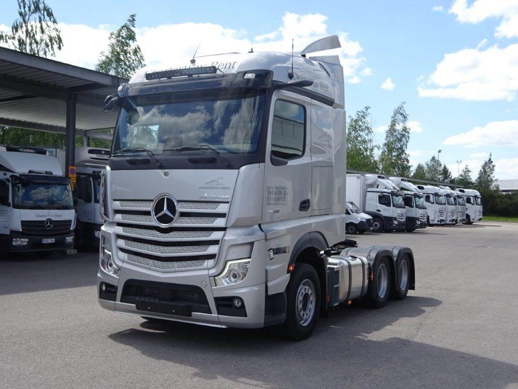 Mercedes-Benz Actros 2658LS 6x4 HCT - Uusi auto heti toimituksee, Vetopöytäautot, Raskas kalusto ja perävaunut