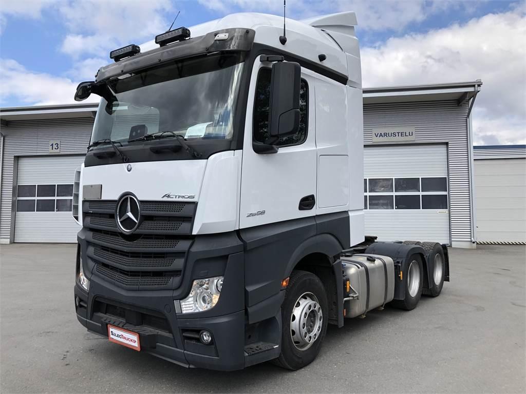 Mercedes-Benz Actros 2658LS, Vetopöytäautot, Raskas kalusto ja perävaunut