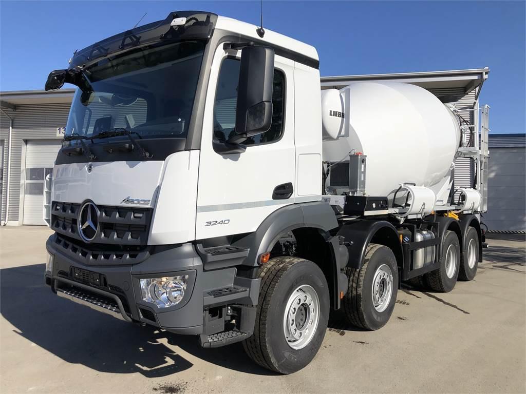 Mercedes-Benz Arocs 3240B, Betonikuorma-autot, Raskas kalusto ja perävaunut