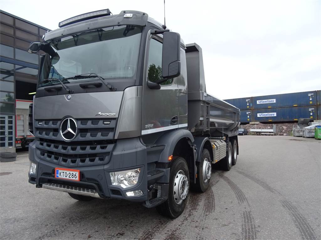 Mercedes-Benz AROCS 3251 K 8x4 Jorpelava, Sora- ja kippiautot, Raskas kalusto ja perävaunut