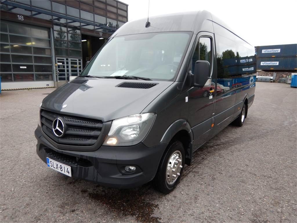 Mercedes-Benz SPRINTER LINJA-AUTO, Turistibussit, Käytetyt Bussit
