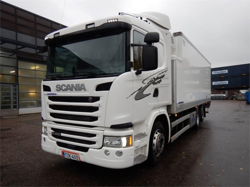 Scania G450 VAK FNA 2-lämpö, Kylmä-/Lämpökori kuorma-autot, Raskas kalusto ja perävaunut