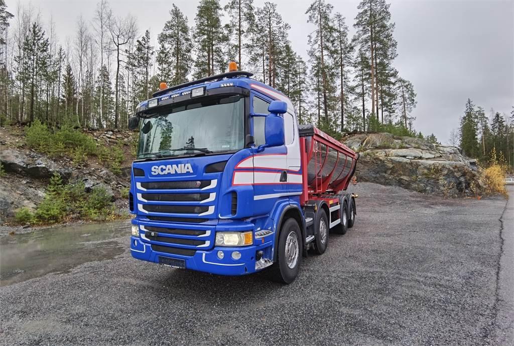 Scania G480 - Eristetty alfalttilava, Sora- ja kippiautot, Raskas kalusto ja perävaunut